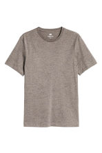 Nepped T-shirt Regular fit - Mole/Neps - Men | H&M 2