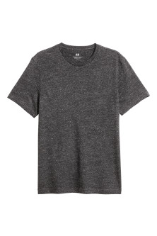 Nepped T-shirt Regular fit