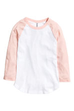 Baseball shirt - Powder pink - Ladies | H&M CN 2