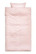 Cotton duvet cover set - Light pink - Home All | H&M CN 2