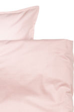 Cotton duvet cover set - Light pink - Home All | H&M CN 3