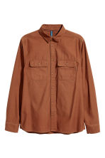 Cargo shirt - Rust - Men | H&M 2