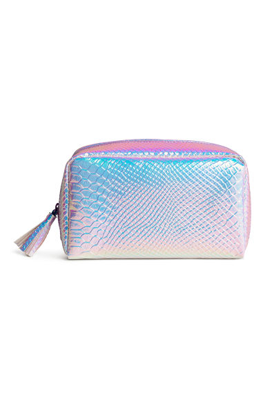 Make-up bag - Purple/Metallic - Ladies | H&M CN 1