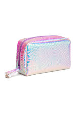 Make-up bag - Purple/Metallic - Ladies | H&M CN 2