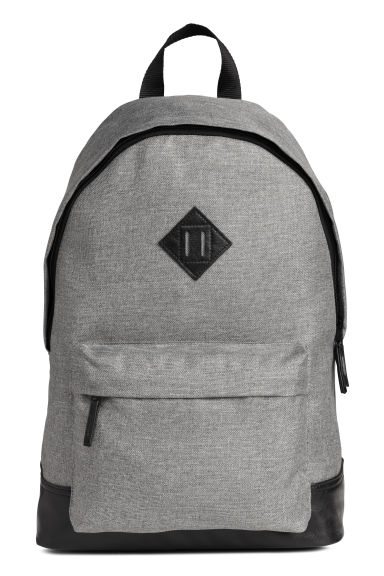 Backpack - Grey marl - Men | H&M 1