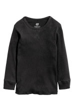 2件入羅紋T恤 - Grey marl -  | H&M 2