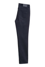 Premium cotton twill trousers - Dark blue - Men | H&M CA 5