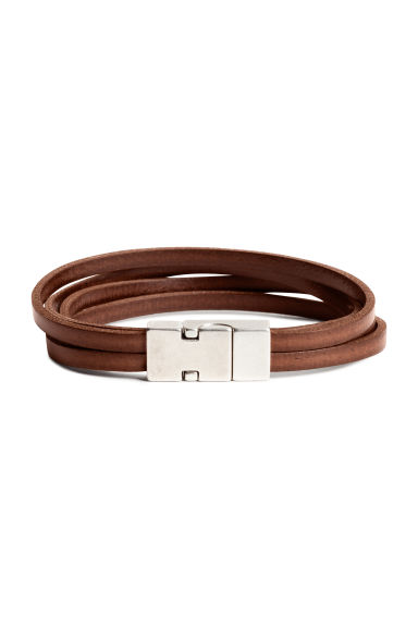 Multistrand bracelet - Dark brown - Men | H&M