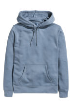 Hooded top - Pigeon blue - Men | H&M 2