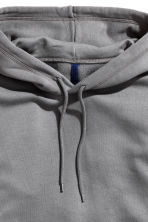 Hooded top - Dark grey - Men | H&M CN 3