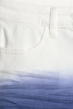 Twill shorts - White/Blue - Kids | H&M 4