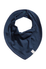 3-pack triangular scarves - Dark blue - Kids | H&M CN 2
