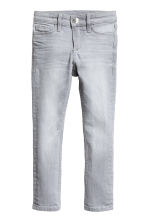 Superstretch Skinny Fit Jeans - 水洗浅灰色 - 儿童 | H&M CN 2