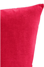 Housse de coussin en velours - Rouge - Home All | H&M FR 2