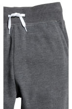 Printed sweatpants - Dark grey marl - Kids | H&M CN 2