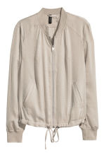 Bomber jacket - Light beige - Ladies | H&M CN 2