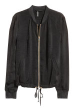 Bomber jacket - Black/Gold - Ladies | H&M CN 2