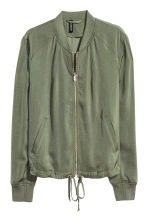 Bomber jacket - Khaki green - Ladies | H&M 2