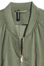 Bomber jacket - Khaki green - Ladies | H&M 3