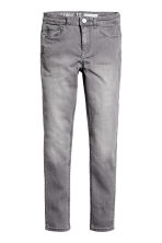 Stretch trousers - Grey washed out - Kids | H&M CN 2