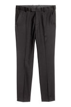 Pantaloni da completo Slim fit - Nero - UOMO | H&M IT 2