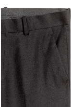 Pantaloni da completo Slim fit - Nero - UOMO | H&M IT 4