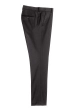 Suit trousers Slim fit - Black - Men | H&M CA 4