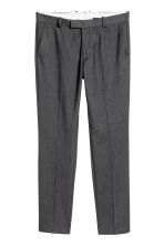 Pantaloni da completo Slim fit - Grigio scuro - UOMO | H&M IT 2