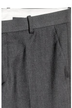 Pantaloni da completo Slim fit - Grigio scuro - UOMO | H&M IT 4