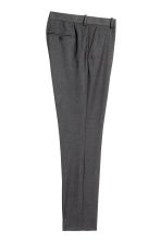 Suit trousers Slim fit - Dark grey - Men | H&M 5