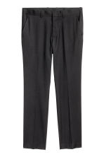 Suit trousers Regular fit - Black - Men | H&M 2