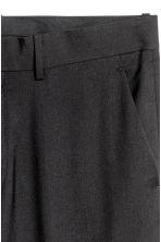 Suit trousers Regular fit - Black - Men | H&M 4