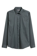 Stretch shirt Slim fit - Dark petrol - Men | H&M 2