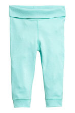 Jersey trousers - Mint -  | H&M 1