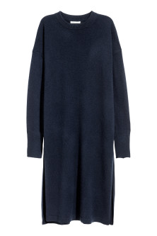 Long cashmere jumper