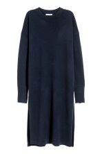Long cashmere jumper - Dark blue - Ladies | H&M 2