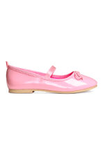 Ballet pumps with strap - Pink - Kids | H&M 2