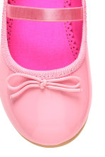 Ballet pumps with strap - Pink - Kids | H&M 3