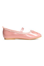 Ballet pumps with strap - Pink - Kids | H&M CN 2