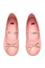 Ballet pumps with strap - Pink - Kids | H&M CN 1