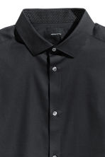 Premium cotton shirt - Black - Men | H&M CN 3