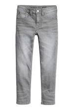 Pantalon en twill Skinny fit - Gris washed out - ENFANT | H&M FR 2