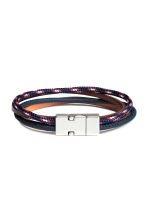 Multistrand bracelet - Dark blue/Red - Men | H&M 1
