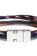 Multistrand bracelet - Dark blue/Red - Men | H&M 2