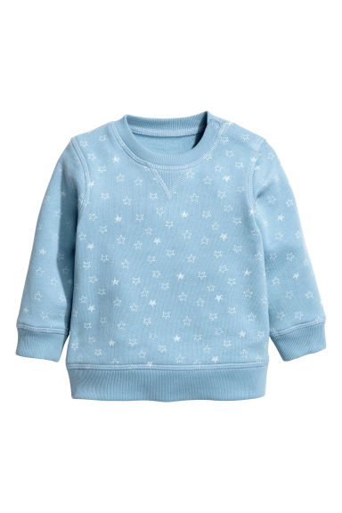 Sweatshirt - Blue/Star -  | H&M