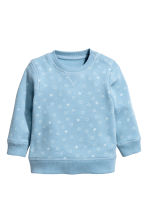 Sweatshirt - Blue/Star -  | H&M CN 1