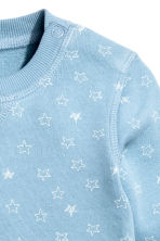 Sweatshirt - Blue/Star -  | H&M CN 2