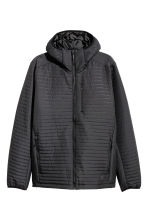 Quilted outdoor jacket - Black - Men | H&M CN 2
