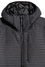 Quilted outdoor jacket - Black - Men | H&M CN 3