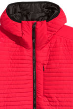 Quilted outdoor jacket - Red - Men | H&M CN 3